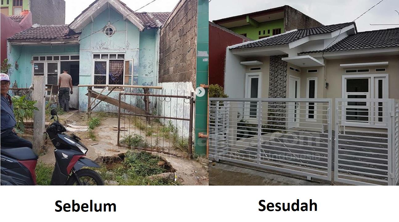 14 Gambar Sebelum Dan Sesudah Renovasi Rumah Ini Bikin