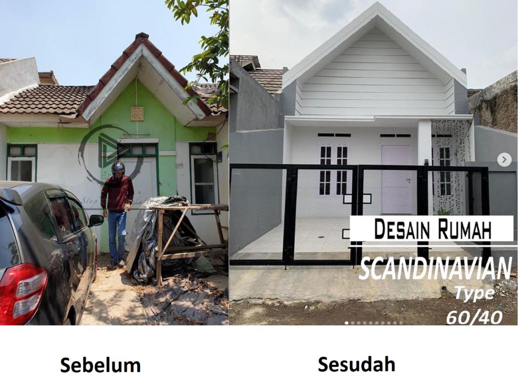 14 Gambar Sebelum Dan Sesudah Renovasi Rumah Ini Bikin Ngiler Rumah123 Com