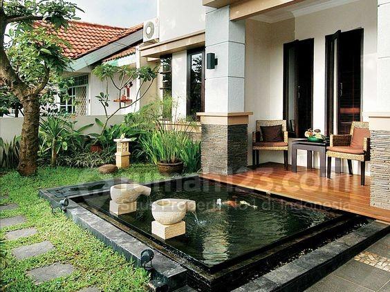 kolam ikan mini - rumah123.com
