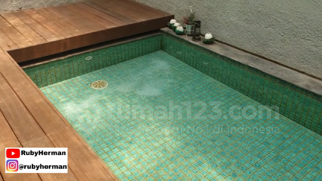kolam renang minimalis - rumah123.com