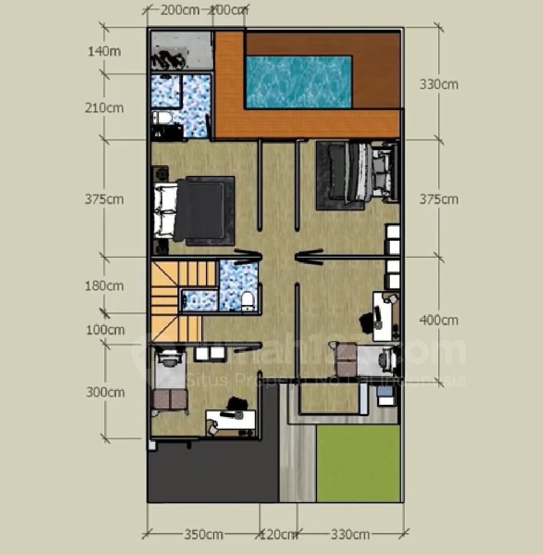 Siapa Bilang Rumah Kecil Gak Bisa Punya Kolam Renang Minimalis Ini Buktinya Rumah123 Com
