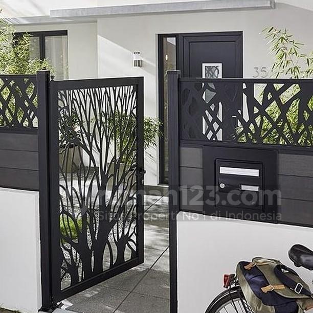 Contoh Desain Pagar Rumah Minimalis Terbaru Westil Desain