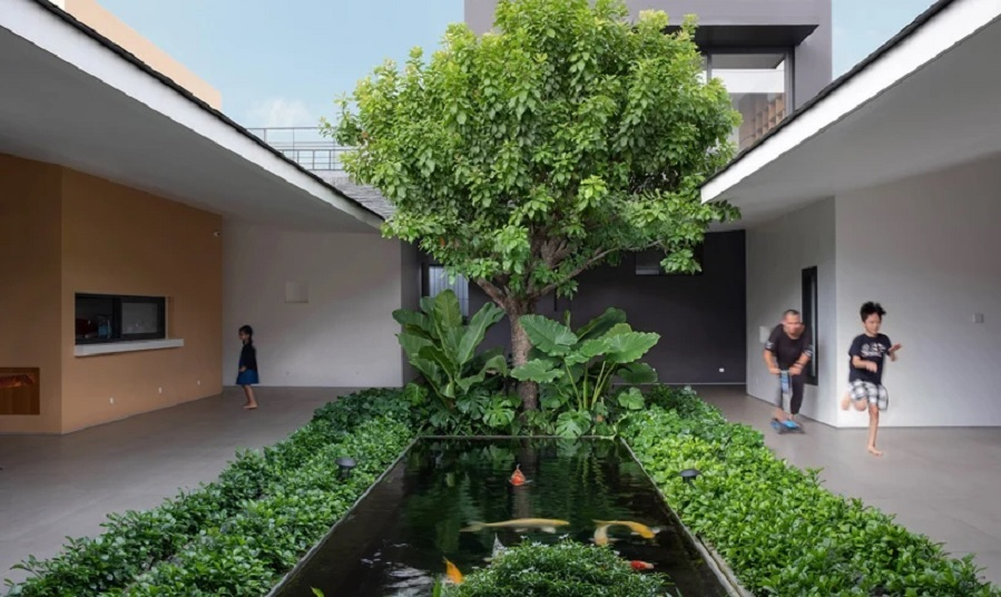rumah konsep alam