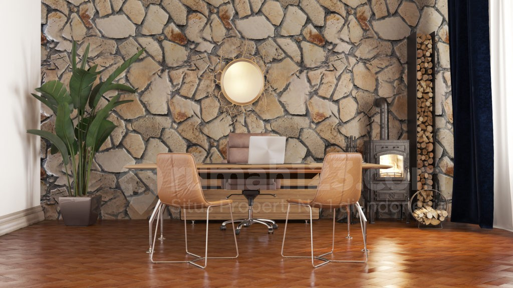 67 Gambar Rumah Dinding Pakai Batu Alam Gratis
