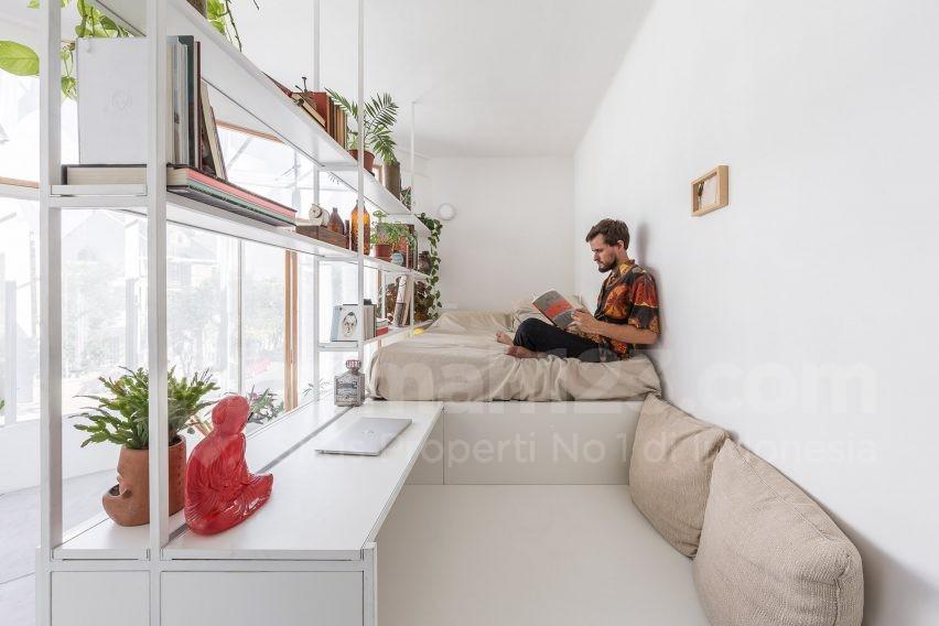 Yuk, Bikin Apartemen Studio Seluas 18 Meter Persegi Jadi Lebih Luas