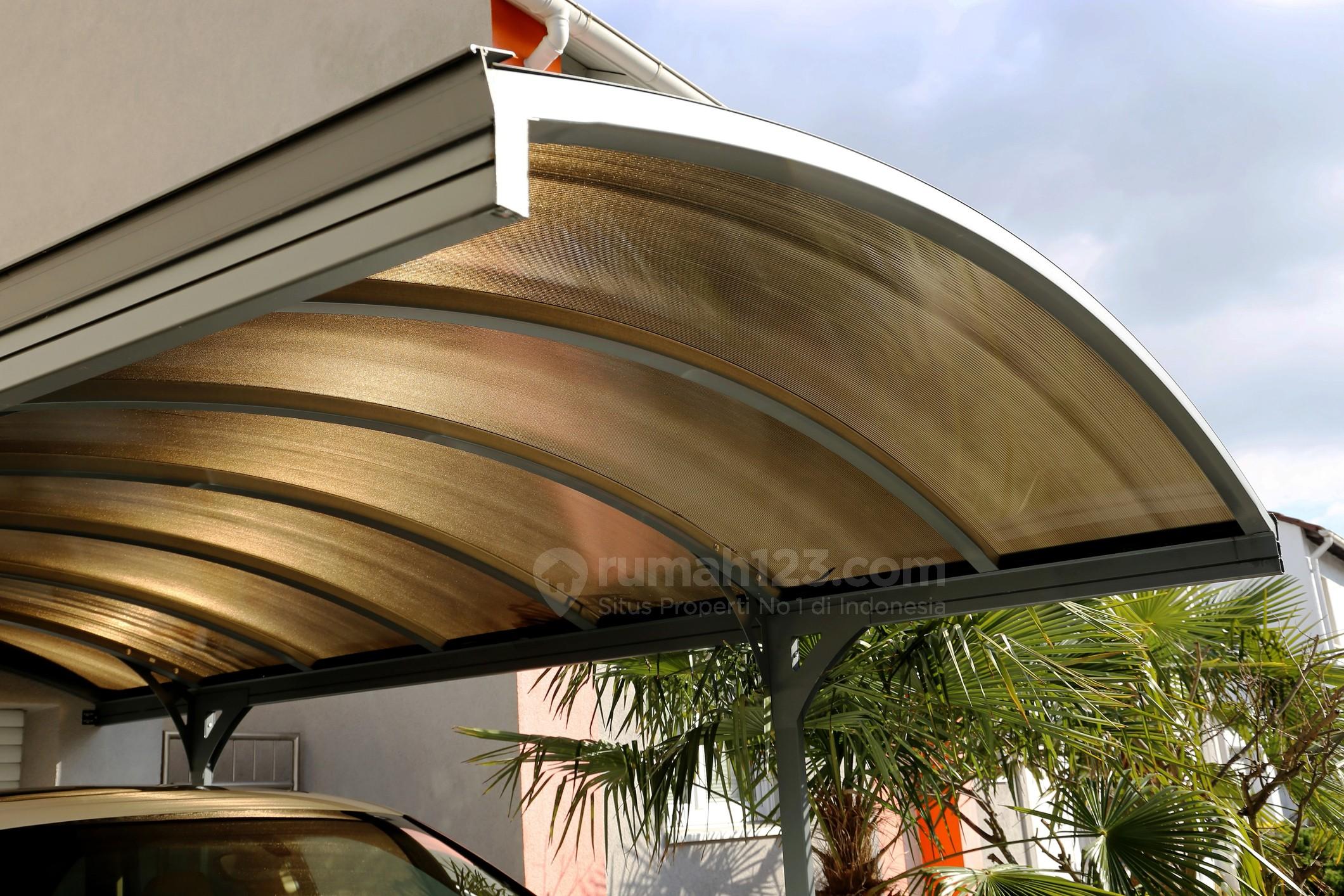 Selain Melindungi, 10 Desain Kanopi Minimalis Ini Bantu Mempercantik Garasi!