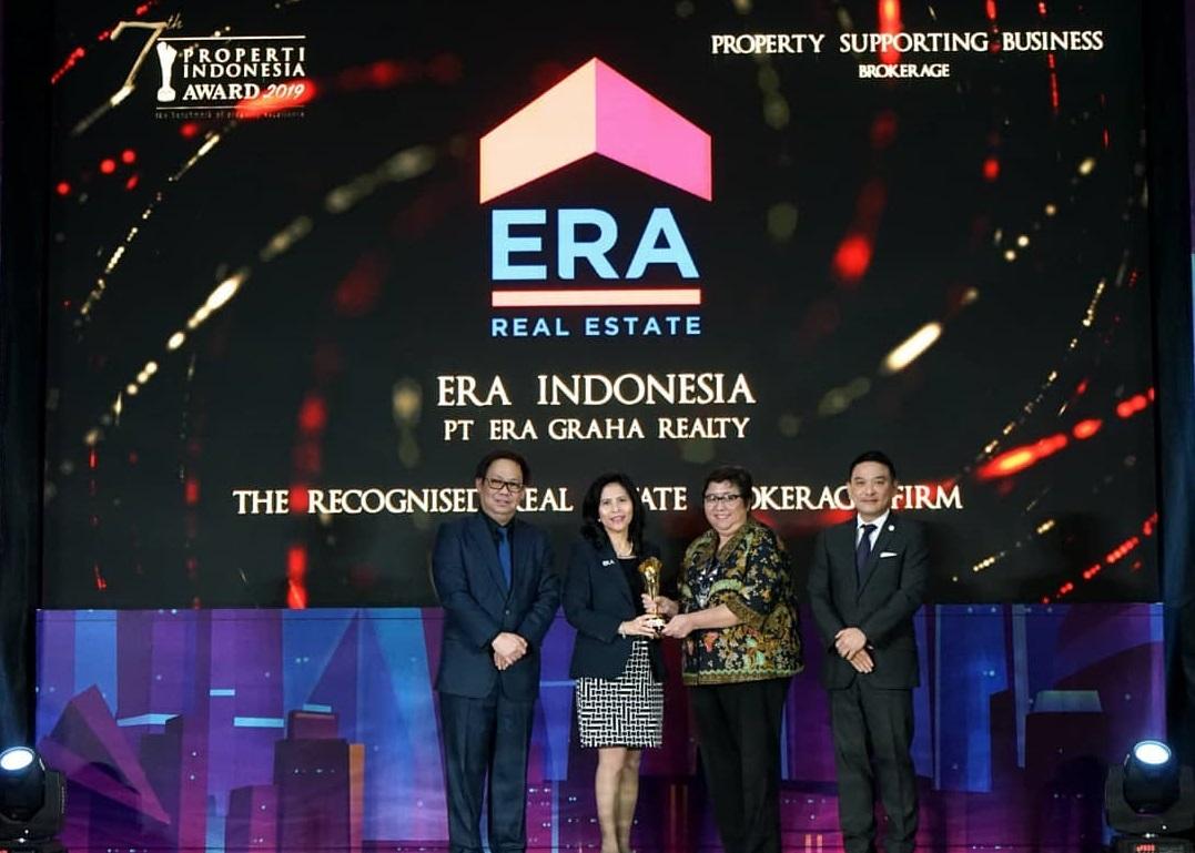 ERA Indonesia Terima Penghargaan- Rumah123.com