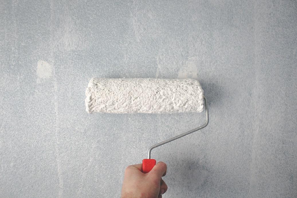 cara mengecat tembok