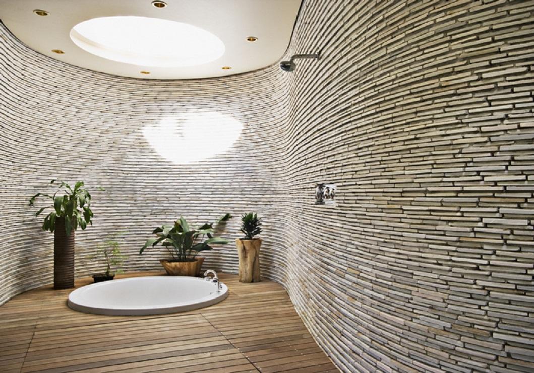Tidak Usah Ragu Memiliki Dinding Batu Alam di Rumah
