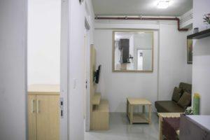Mengintip Interior Rumah Susun Sederhana Milik DP Rp0
