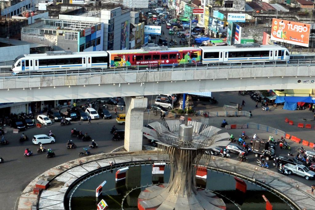 LRT Palembang Angkut 2 Juta Penumpang Selama 1 Tahun Beroperasi