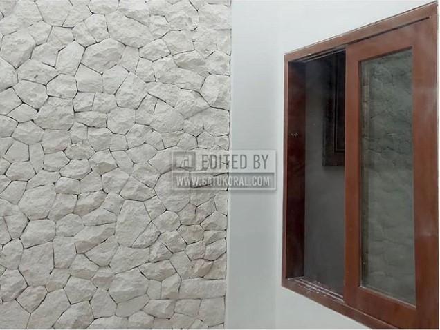 batu limestone serai bali putih