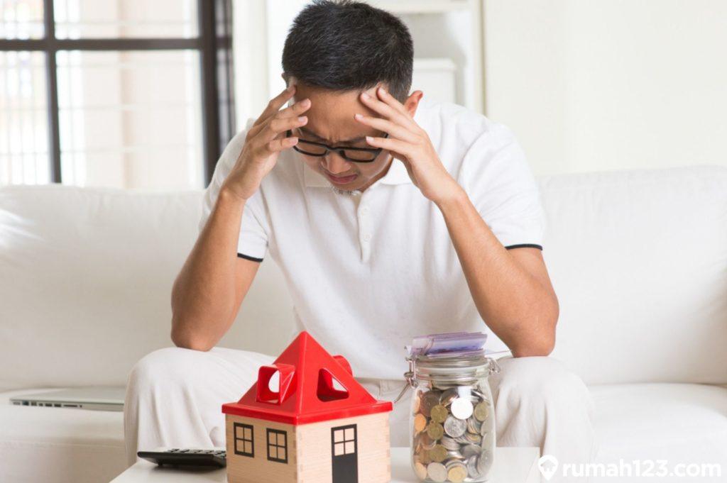 kredit rumah macet