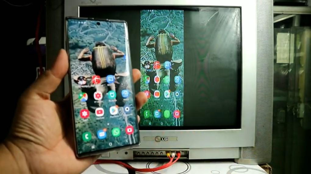 TV jadul jadi smart TV