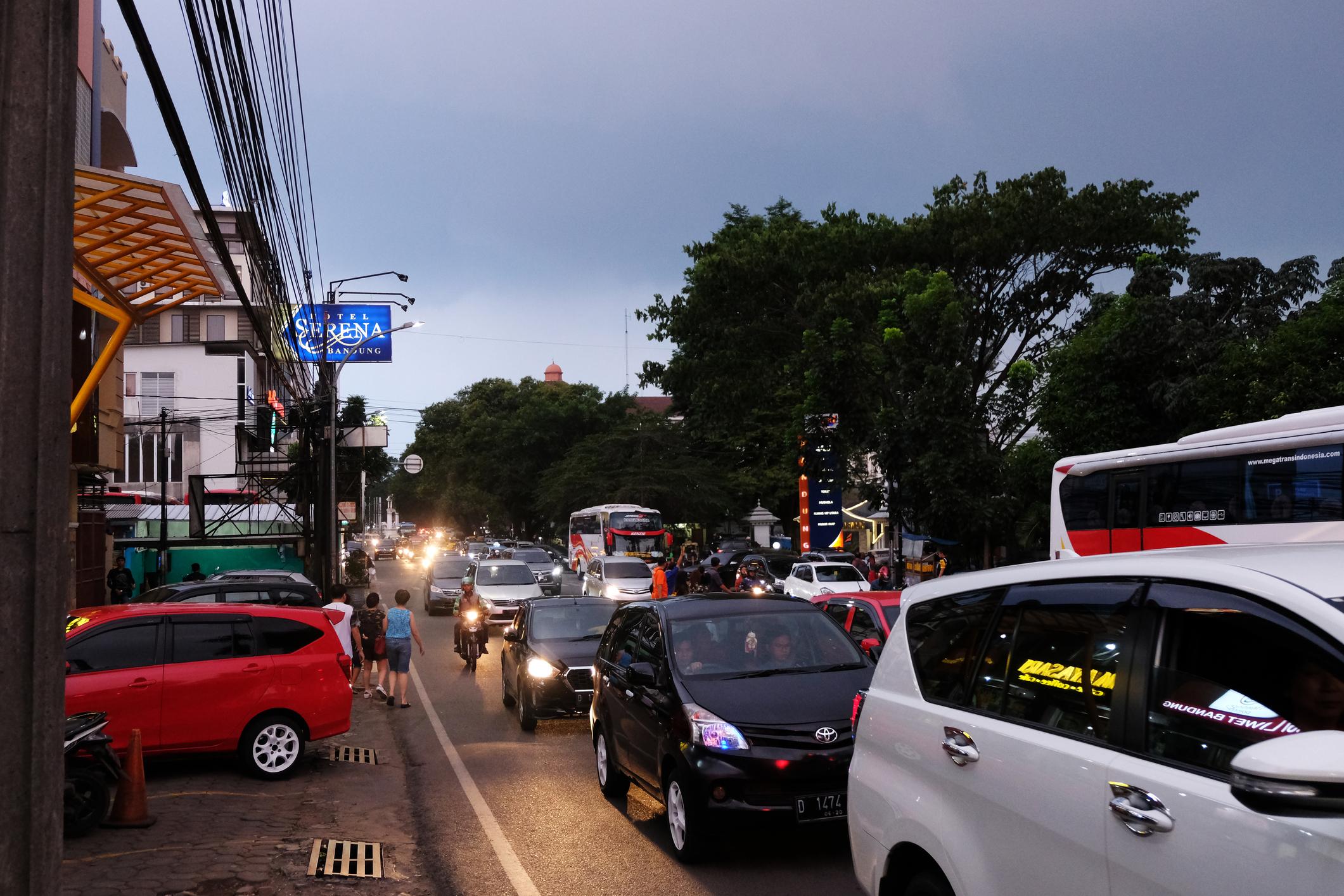 Bukan Jakarta, Ternyata Ini Kota Termacet di Indonesia