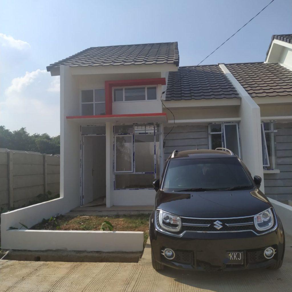Rumah yang sedang dicicil Resna di bilangan Bekasi - Rumah123.com