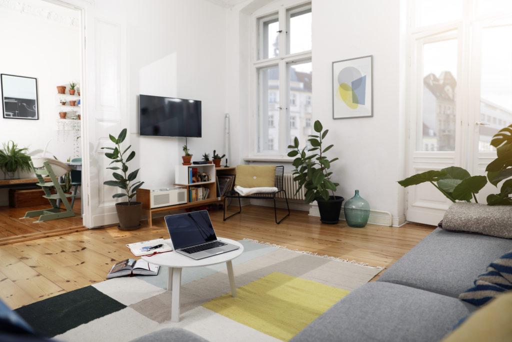 Tanaman di bagian dalam rumah juga menjadi tren desain interior 2020 (Rumah123.com/Getty Images)