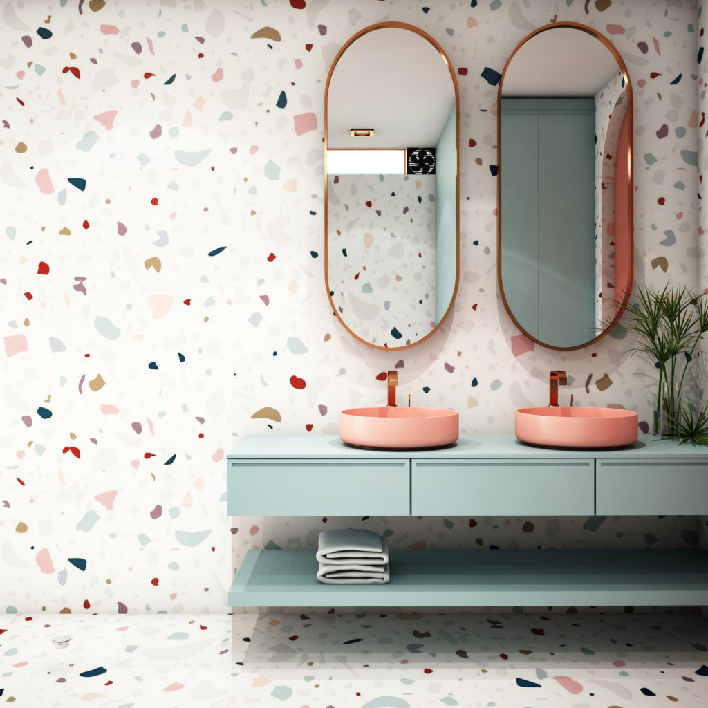 Gaya teraso adalah gaya abstrak atau acak yang menghiasi dinding dinding dan lantai rumah - Rumah123.com