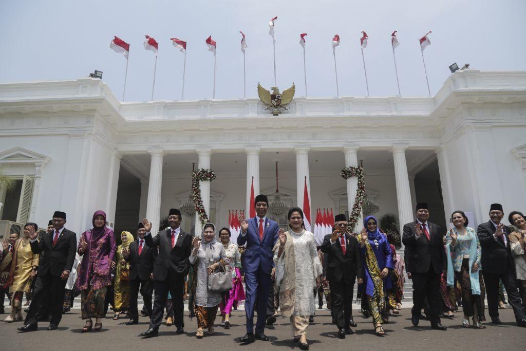 residen Joko Widodo resmi melantik para menteri di Kabinet Indonesia Maju pada Rabu 23 Oktober 2019 - Rumah123.com/etty Images