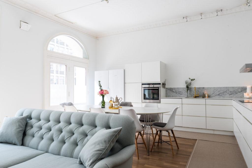 Desain rumah Skandinavia menciptakan kesan hangat - Rumah123.com
