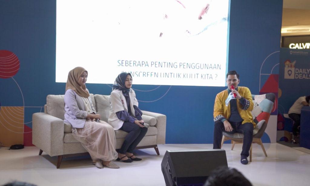 Dr. Dwi Tiara Septiani dari MD Clinic di acara talkshow Festival Properti Indonesia 2019 - Rumah123.com