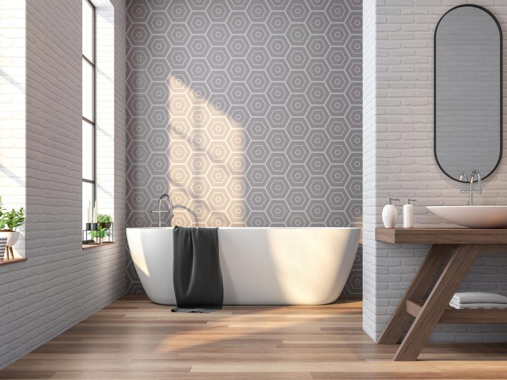 Pola dinding geometri diperkirakan akan menjadi tren di tahun 2020 - Rumah123.com