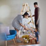 DIY Pohon Natal Mudah dan Murah dengan Bahan yang Ada di Rumah