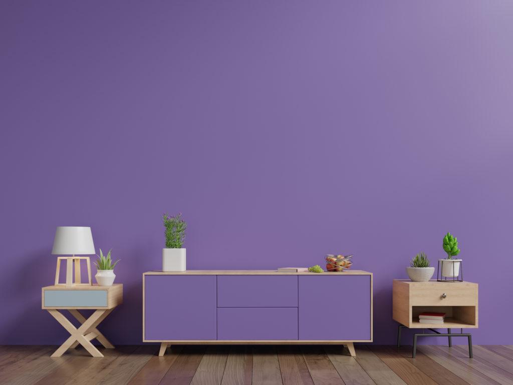 Ungu lilac merupakan warna yang cocok untuk pasangan baru - Rumah123.com