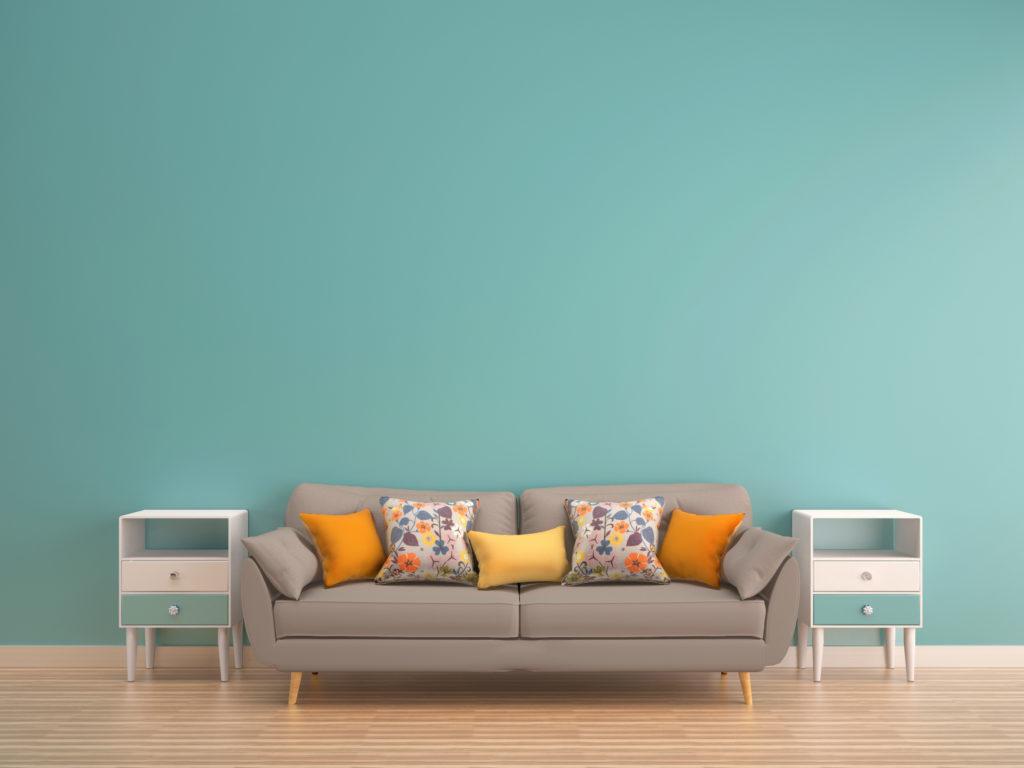 Hijau mint, salah satu warna cat rumah minimalis yang bisa dipilih - Rumah123.com