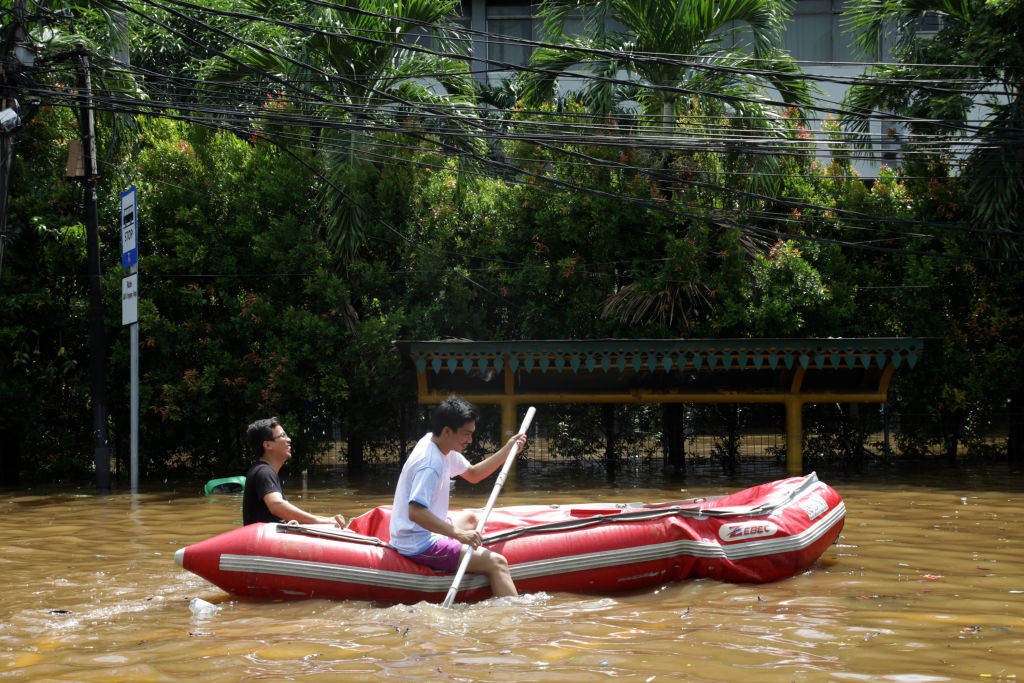 banjir jakarta- rumah123.com