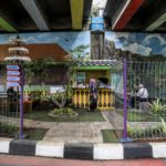 Menikmati Taman Budaya Betawi di Kolong Tol Joglo