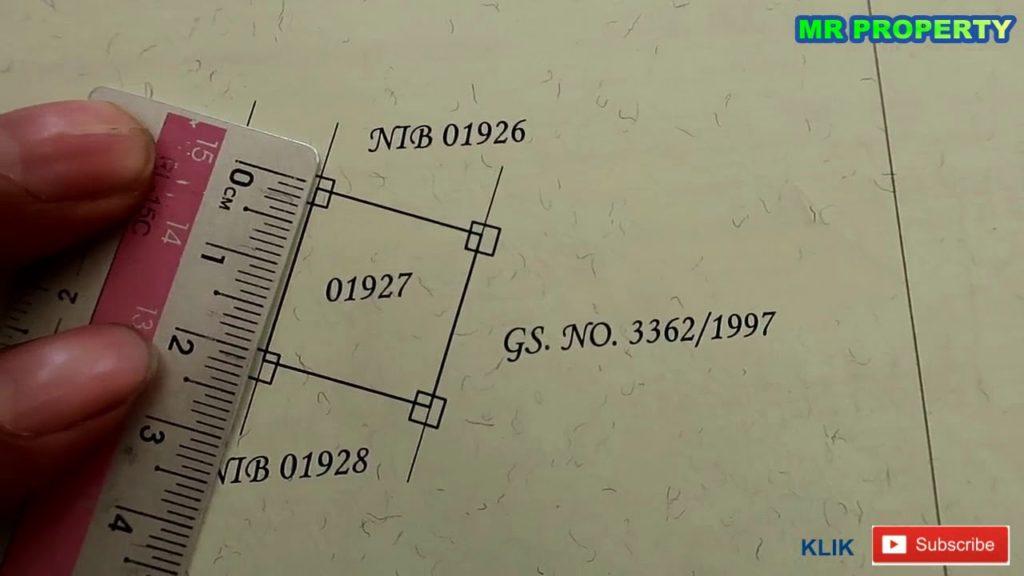 menghitung luas tanah di sertifikat