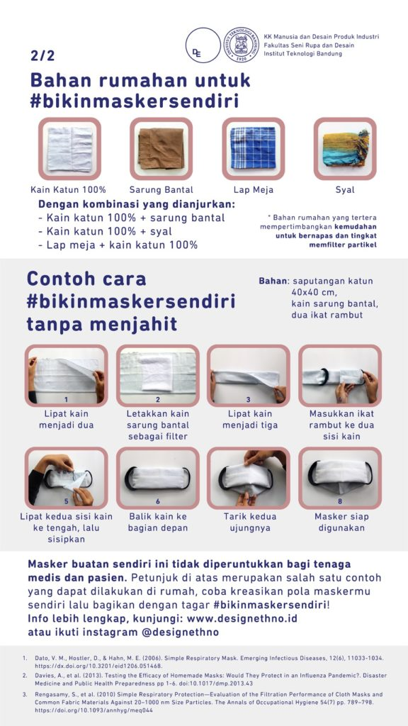 masker kain - Rumah123.com