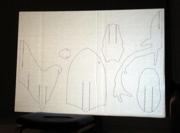 cara membuat hiasan dinding dari kardus - rumah123.com