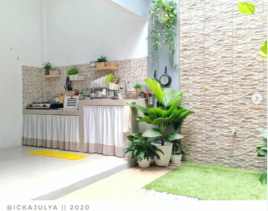 dapur minimalis terbuka - rumah123.com