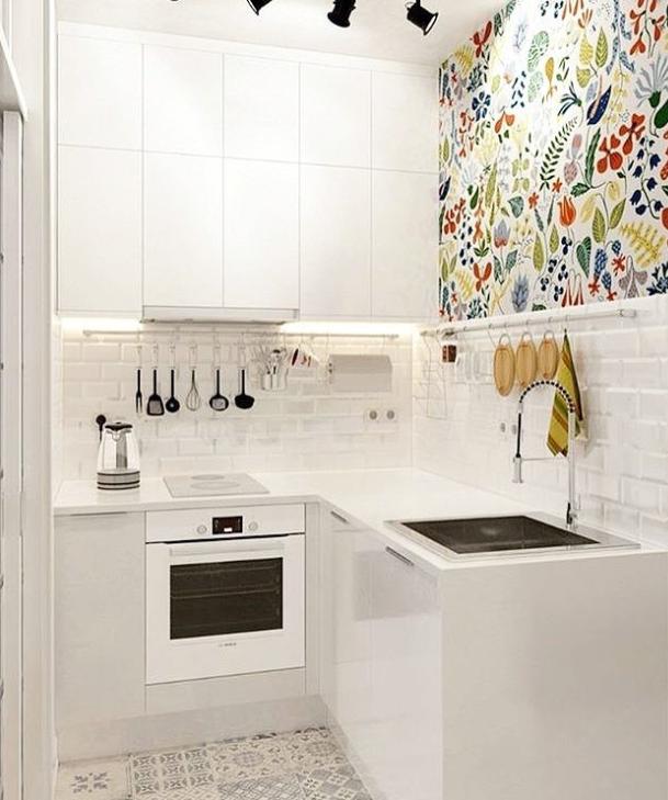 6 Contoh Desain Dapur Kecil Dan Cara Pintar Mengakalinya Rumah123 Com