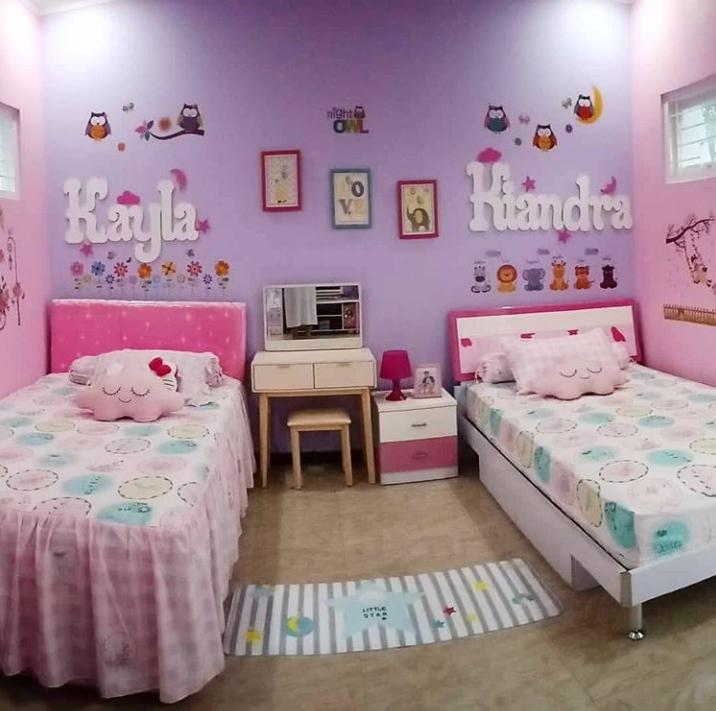 8 Ide Kamar Anak Perempuan Ala Para Instagrammer Mana Paling Cantik Rumah123 Com