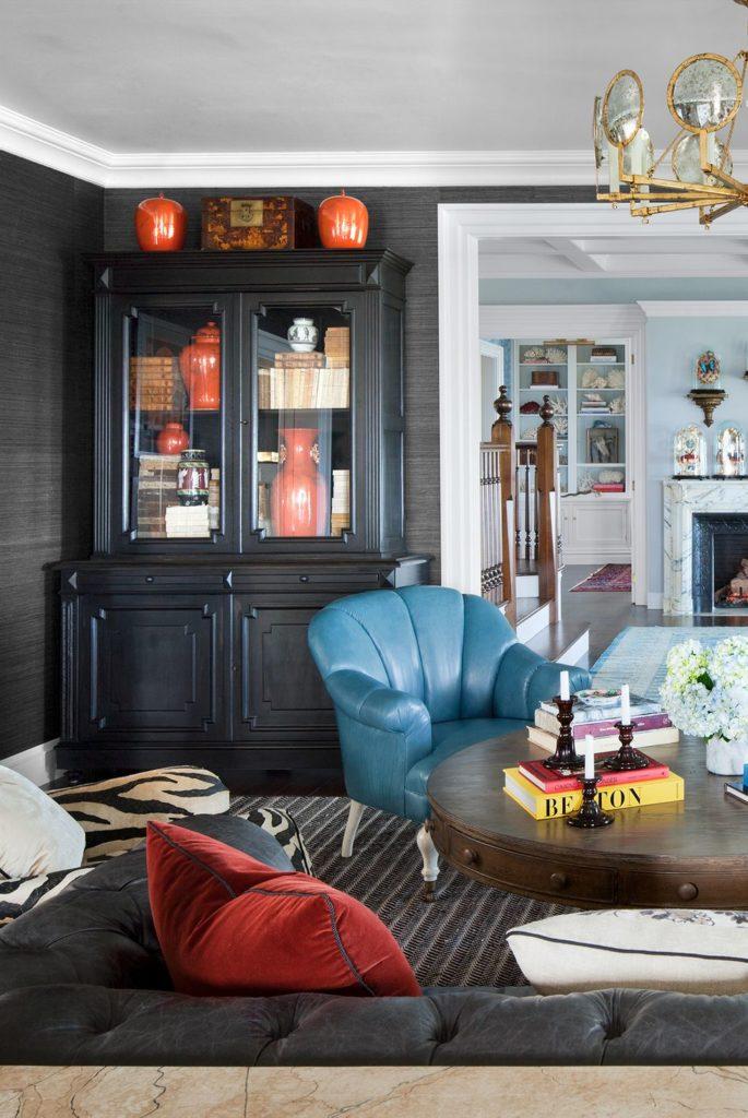 wallpaper ruang tamu - rumah123.com