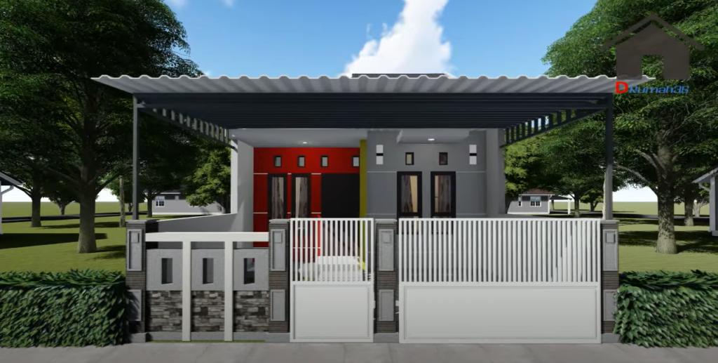 Wow! Hasil Renovasi Rumah Type 36/72 Jadi Mewah Begini ...