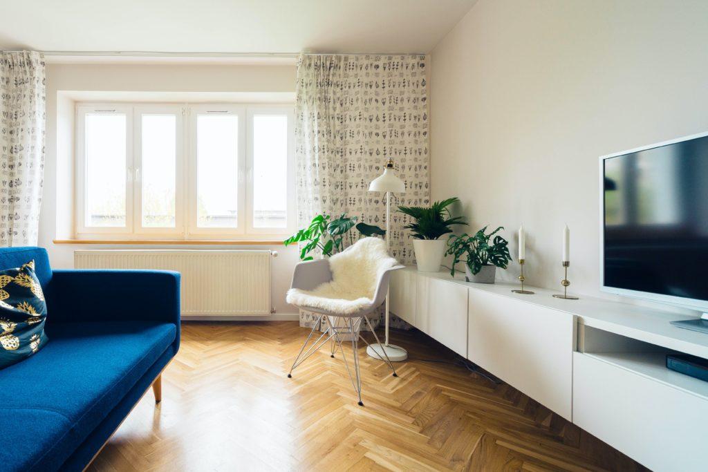 ruang tamu scandinavian - rumah123.com