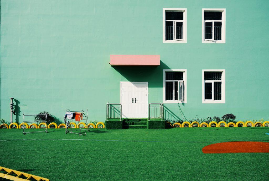 warna cat dinding hijau tosca