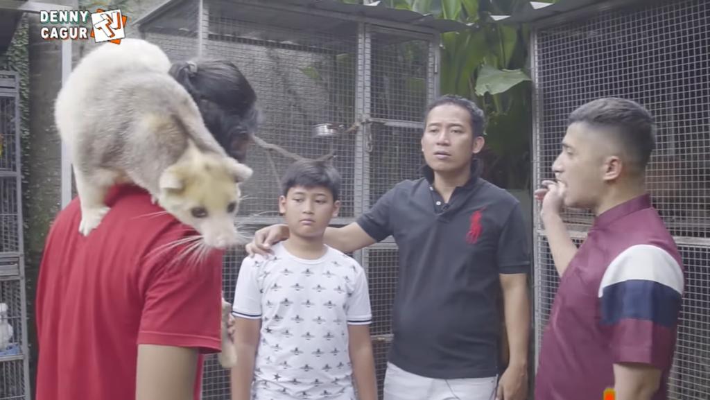 kebun binatang mini rumah irfan hakim