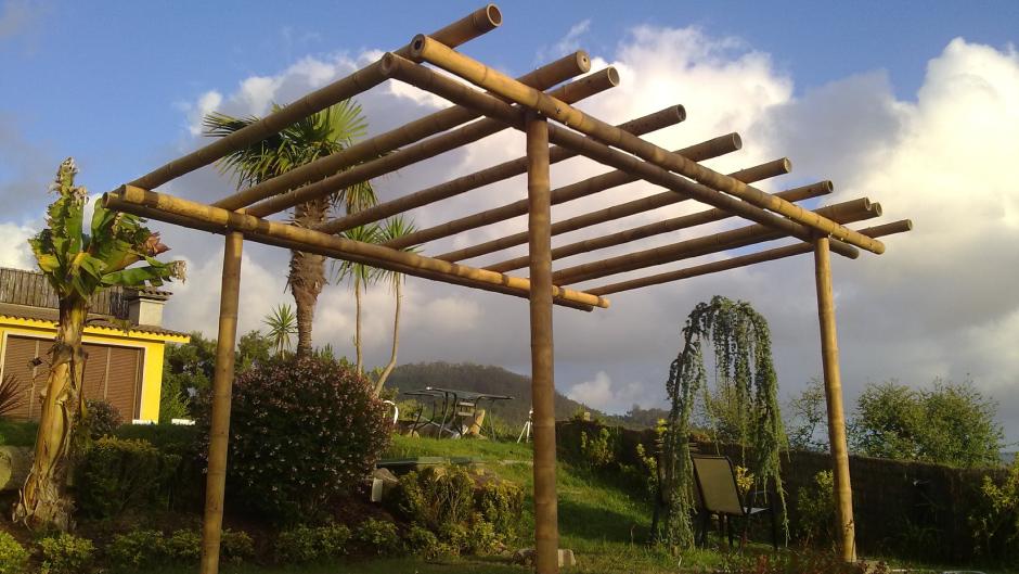 Pergola Bambu