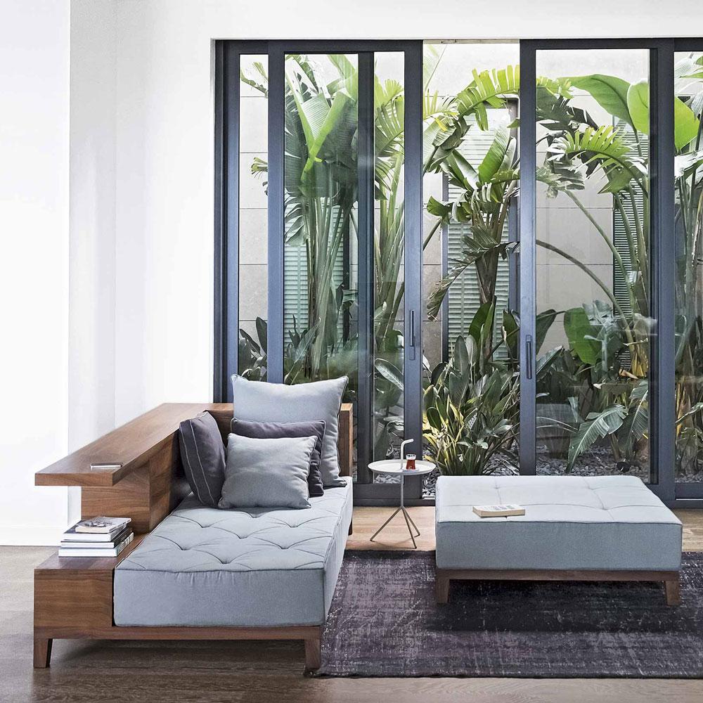 ruang keluarga kebun
