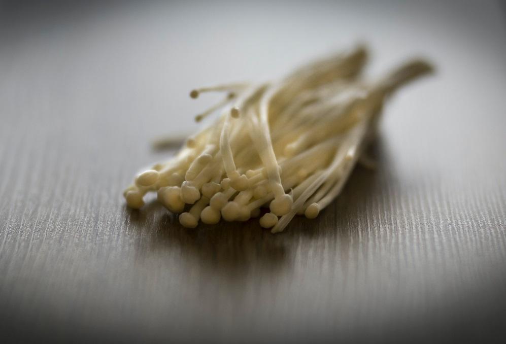 jamur enoki, bakteri listeria