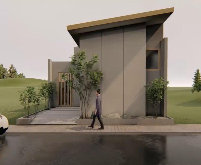 Inspirasi Rumah Jepang 7x10 Meter, Kecil Tapi Terasa Luas! | Rumah123.com