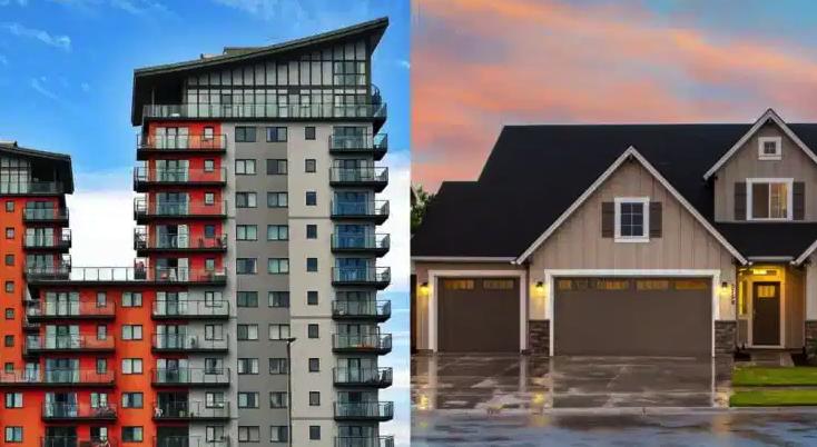 apartemen atau rumah