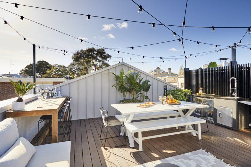 Hasil gambar untuk Desain atap rooftop Tropis Industrial
