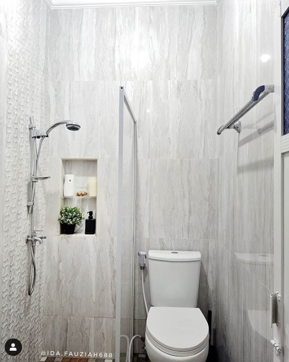 kamar mandi minimalis modern