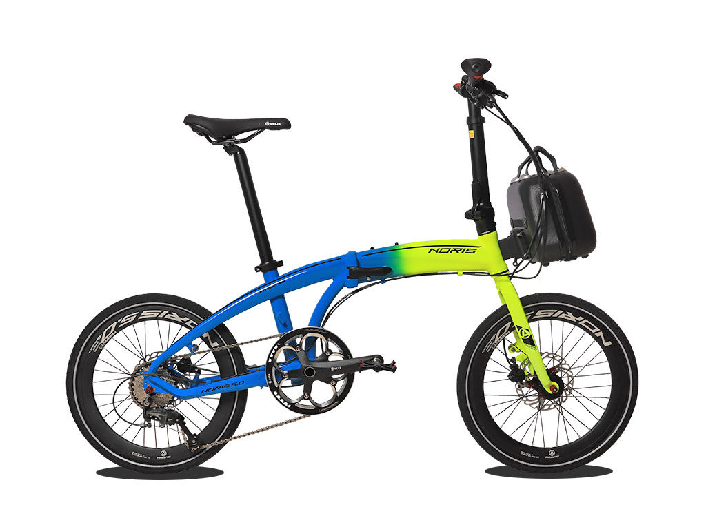 sepeda lipat pacific bike Noris 5.0